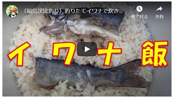 渓流釣り(イワナ・野外料理)